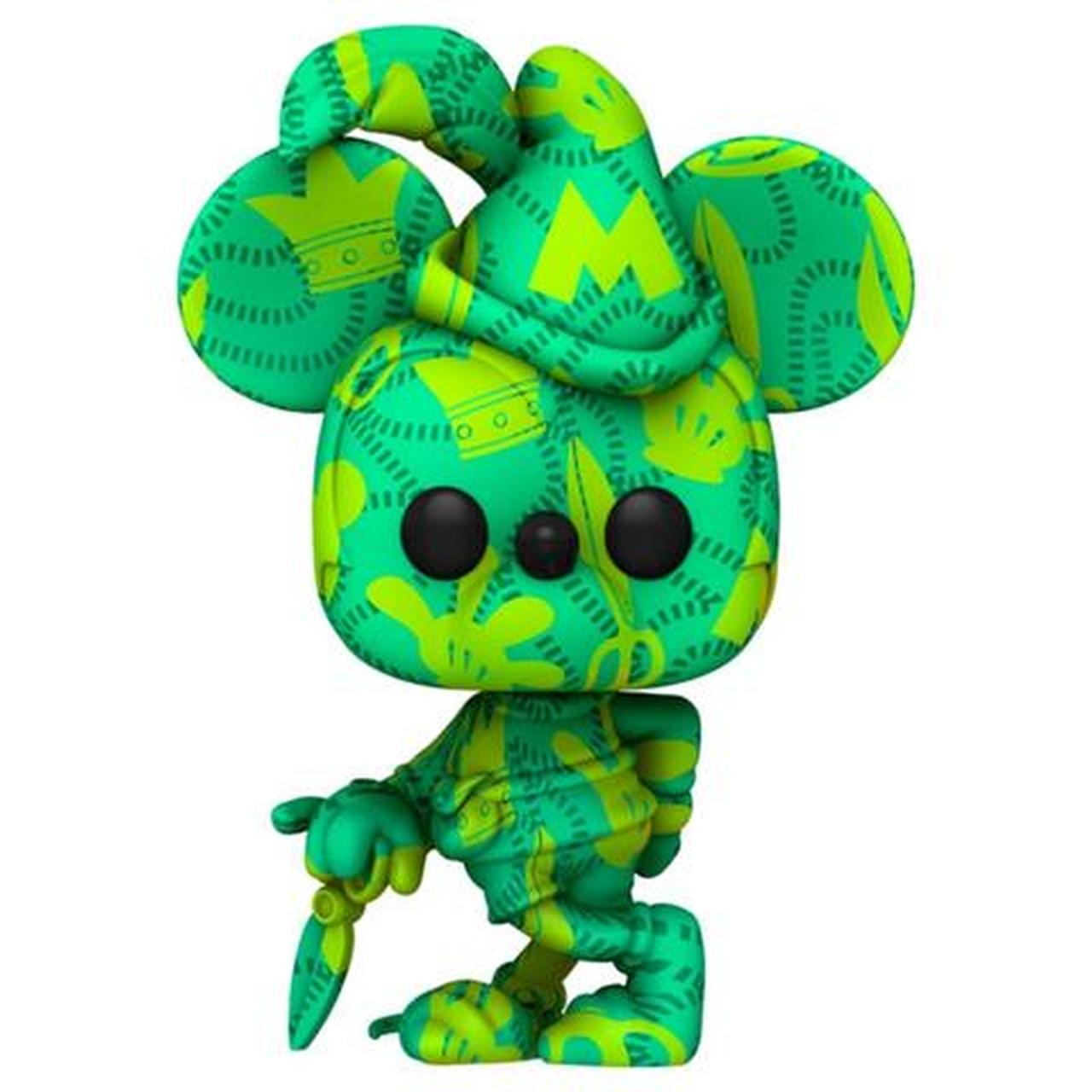 Funko Pop! O Alfaiatezinho Valente Mickey Mouse Disney Art Series Edição Especial Special Edition #21 - Funko
