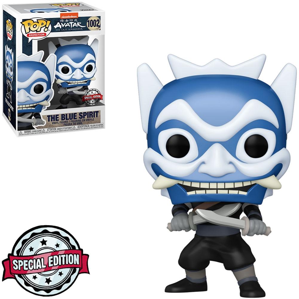 Funko Pop! O Espírito Azul The Blue Spirit: Avatar A Lenda de Aang The Last Airbender #1002 - Funko