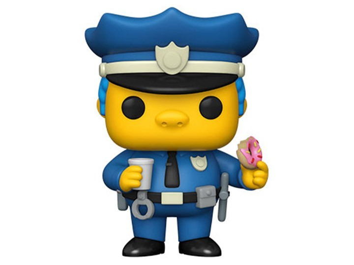 PRÉ VENDA: Funko Pop! Os Simpsons: Chief Wiggum - Funko