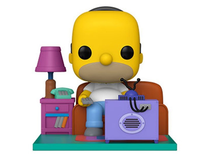 PRÉ VENDA: Funko Pop! Os Simpsons: Homer Watching TV Deluxe - Funko