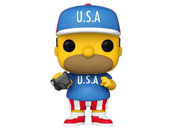 PRÉ VENDA: Funko Pop! Os Simpsons: USA Homer - Funko