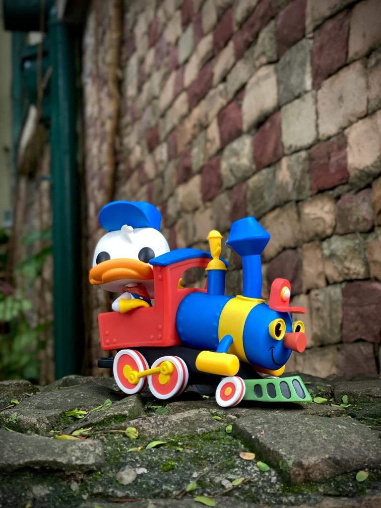 Funko Pop! Pato Donald no Trem (Aniversário 65 Anos) #01 - Funko