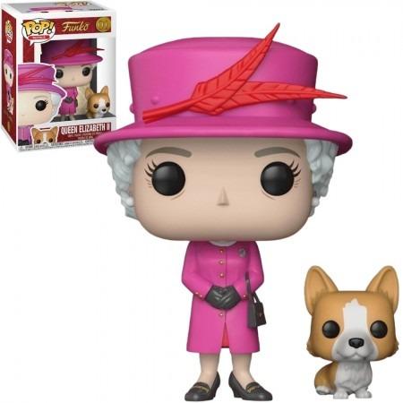 Funko Pop! Rainha Elizabeth II - Queen Elizabeth II #01 - Funko - AG