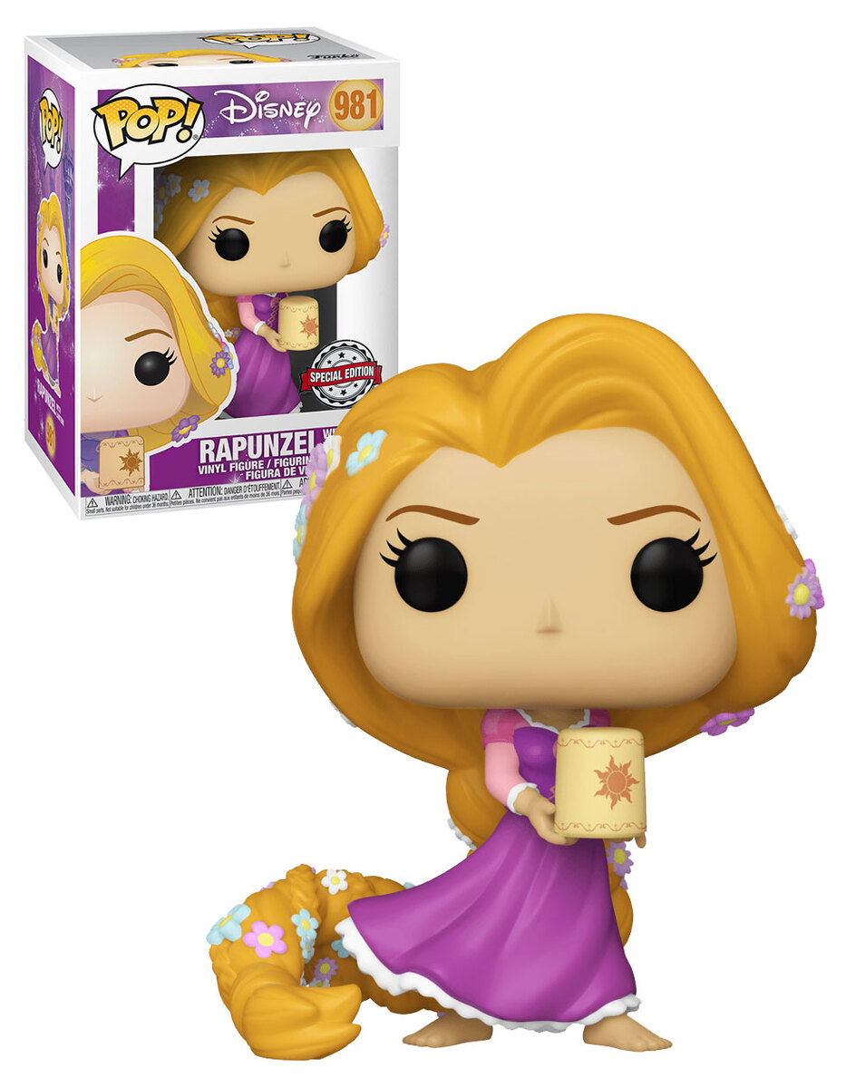 Funko Pop! Rapunzel: Enrolados (Tangled) Exclusivo (Disney) #981 - Funko