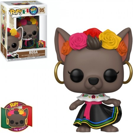 Funko Pop! Rosa: Pop Em Todo Mundo - Itália Around The World Itália Exclusivo #05 - Funko - AG