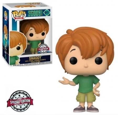 Funko Pop! Salsicha Shaggy: Scoob! Scooby Doo #911 Exclusive Exclusivo - Funko