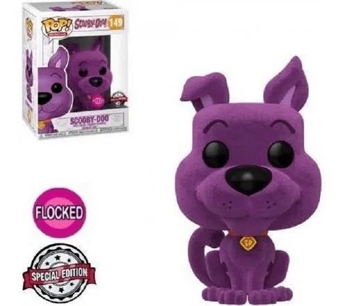 Funko Pop! Scooby-Doo (Flocked - Edição Especial) #149 - Funko