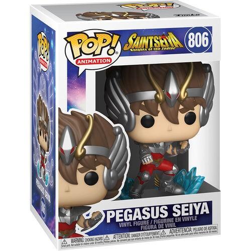Funko Pop! Seiya de Pégaso (Seiya Pegasus): Os Cavaleiros do Zodíaco (Saint Seiya)#806 - Funko