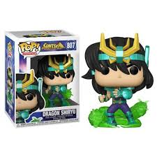 Funko Pop! Shiryu de Dragão (Dragon Shiryu): Os Cavaleiros do Zodíaco (Saint Seiya)#807 - Funko