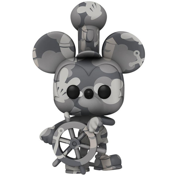 Funko Pop! Steamboat Mickey Mouse Disney Art Series Edição Especial Special Edition #18 - Funko