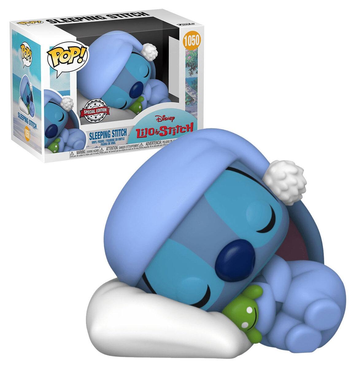 Funko Pop! Stitch Dormindo Sleeping Stitch: Lilo E Stitch #1050 Disney - Funko