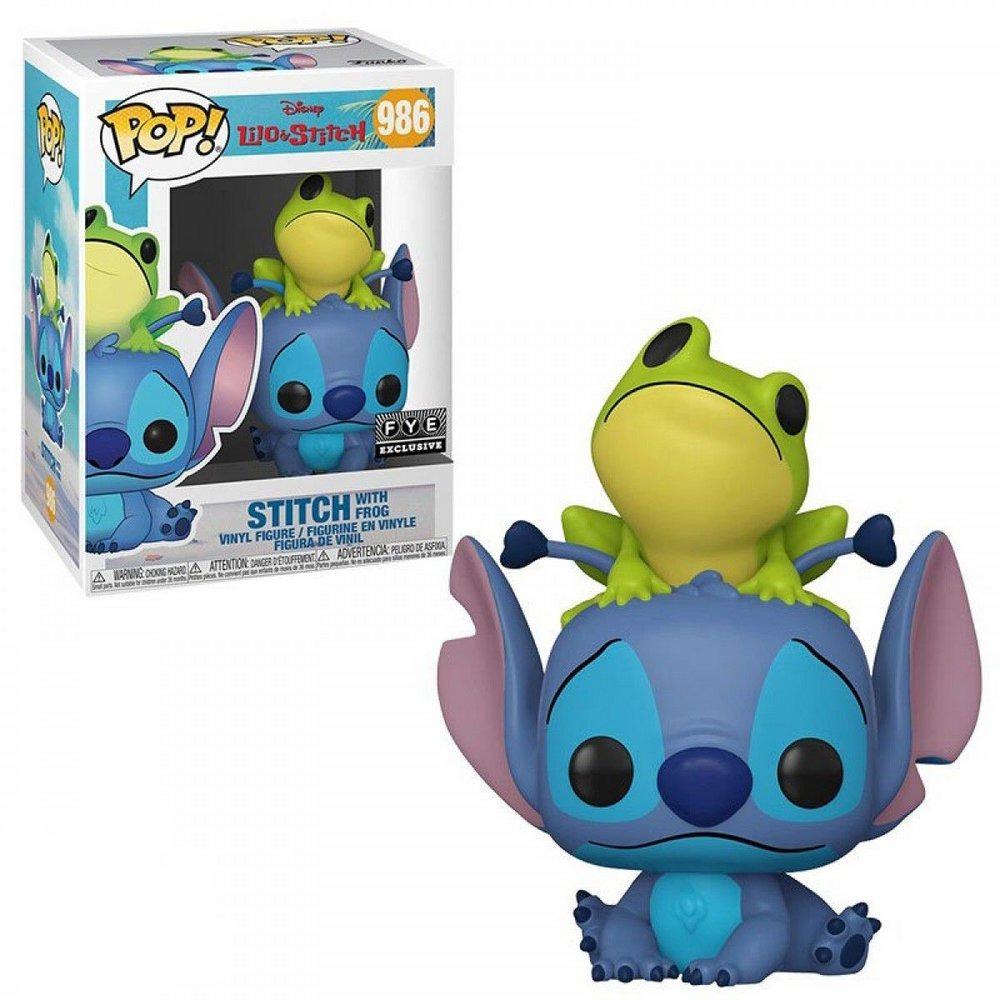 Funko Pop! Stitch With Frog: Lilo & Stitch Disney #986 - Funko
