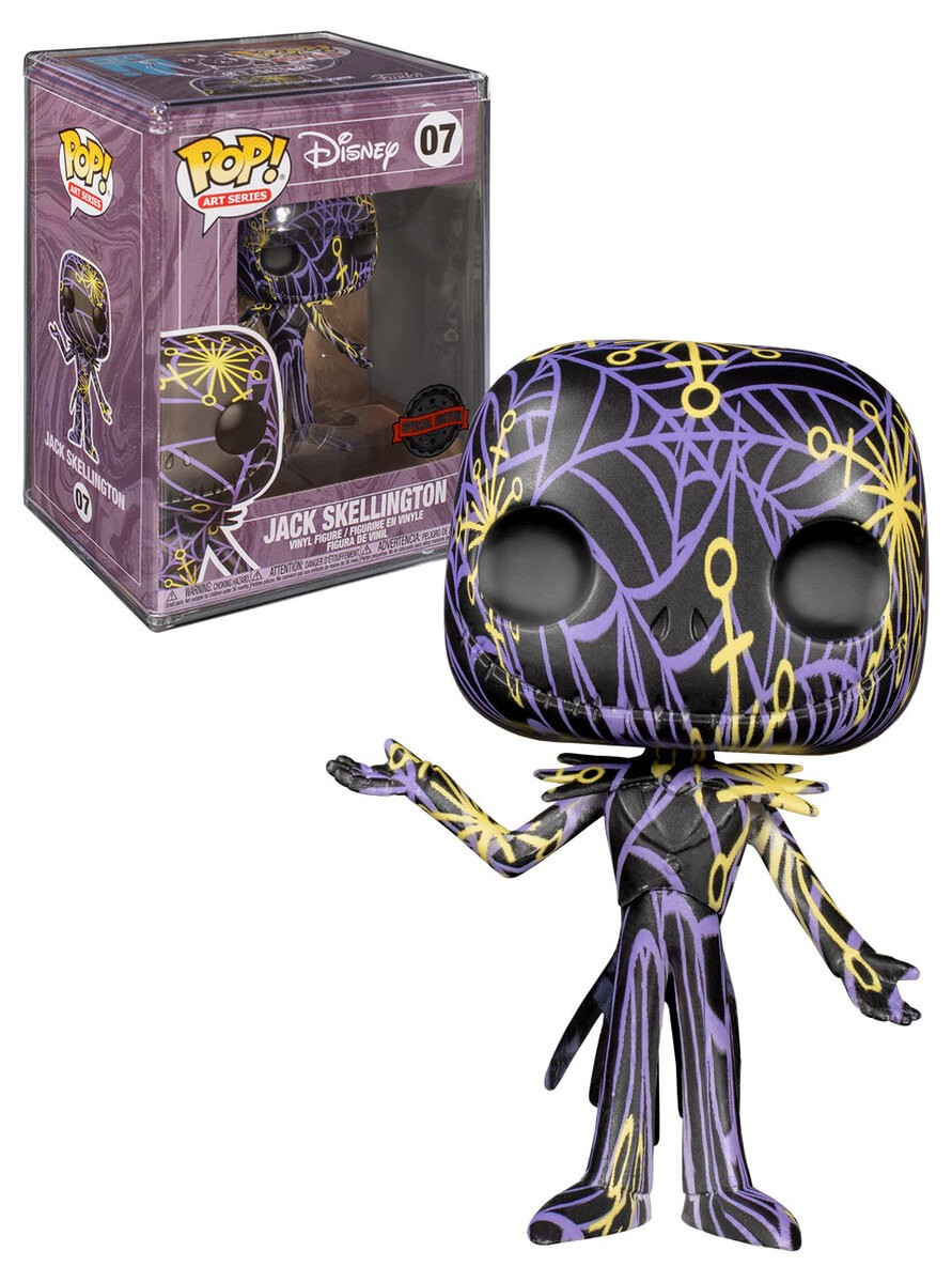 Funko Pop! The Nightmare Before Christmas: ack Skellington Artist Series (Exclusivo) #07 - Funko