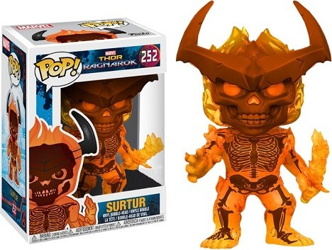 Funko POP! Thor Ragnarok Surtur Vinyl Figure #252 - Exclusivo