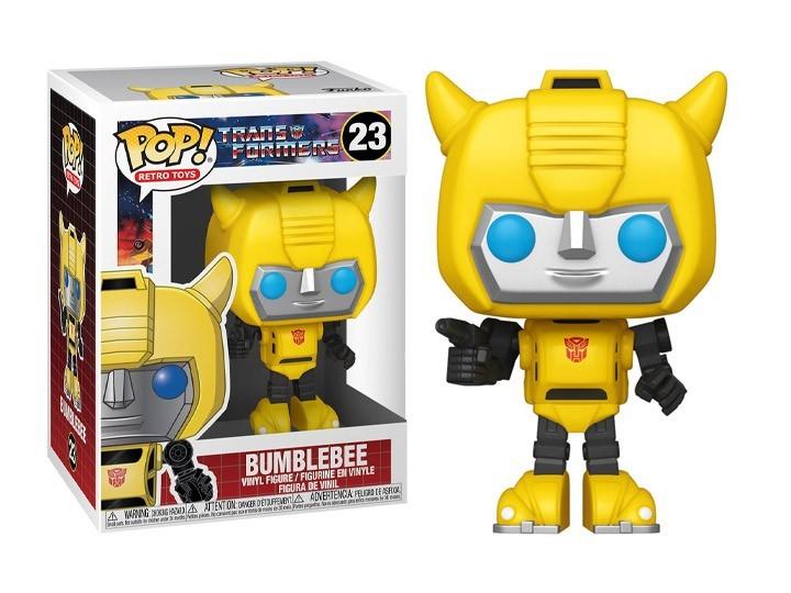 Funko Pop! Transformers: Bumblebee (Retro Toys) #23 - Funko