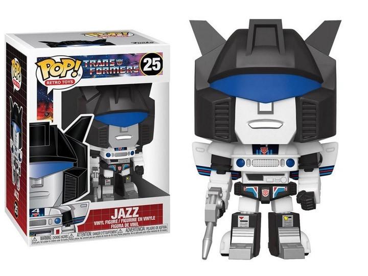 PRÉ VENDA: Funko Pop! Transformers: Jazz (Retro Toys) #25 - Funko