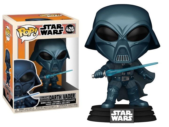 PRÉ VENDA: Funko Pop! Vader Alternativo (Alternate Vader): Star Wars Concept Series #426 - Funko - EV