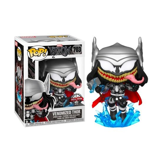 Funko Pop! Venomized Thor Venom Marvel #703 Edição Especial - Funko