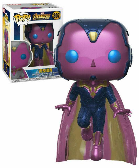 Funko Pop! Visão Vision: Vingadores Guerra Infinita Avengers Infinity War Edição Especial Special Edition #307 - Funko