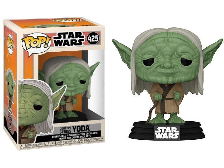 PRÉ VENDA: Funko Pop! Yoda: Star Wars Concept Series #425 - Funko