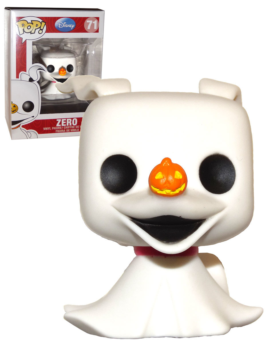Funko Pop! Zero - O Estranho Mundo De Jack The Nightmare Before Christmas - #71 - Funko