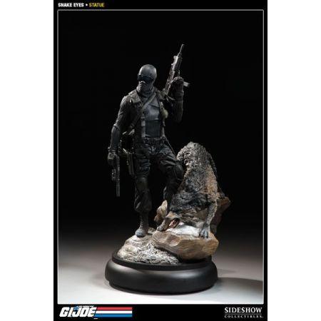 G.I Joe Snake Eyes Polystone Estatua - Sideshow