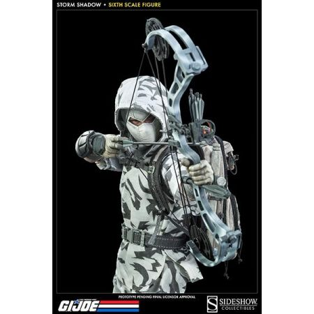 G.I Joe Storm Shadow Assassin Figure Escala 1:6 - Sideshow