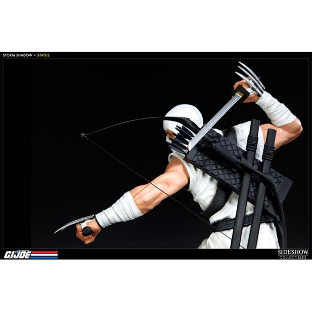 G.I. Joe Storm Shadow Estátua Escala 1/5 - Sideshow