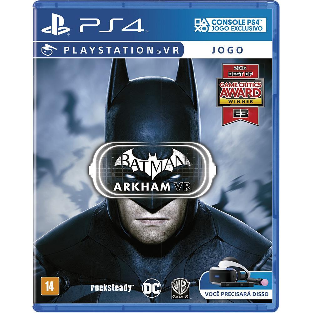Game Batman Arkham VR - PS4