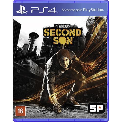 Game InFamous: Second Son - PS4 (Produto Usado)