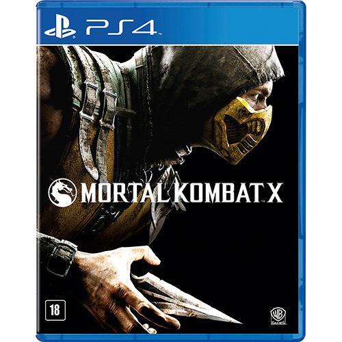 Game Mortal Kombat X - PS4 (Produto Usado)