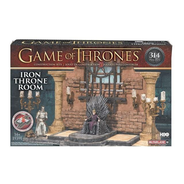 Game Of Thrones Building Sets Iron Throne Room - McFarlane
