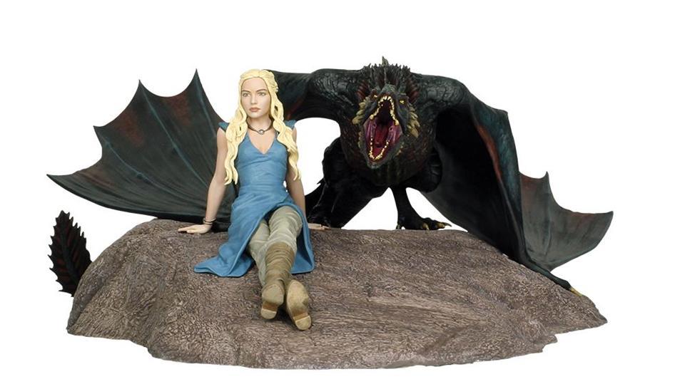 Estátua Daenerys And Drogon: Game Of Thrones - Dark Horse (Apenas Venda Online)