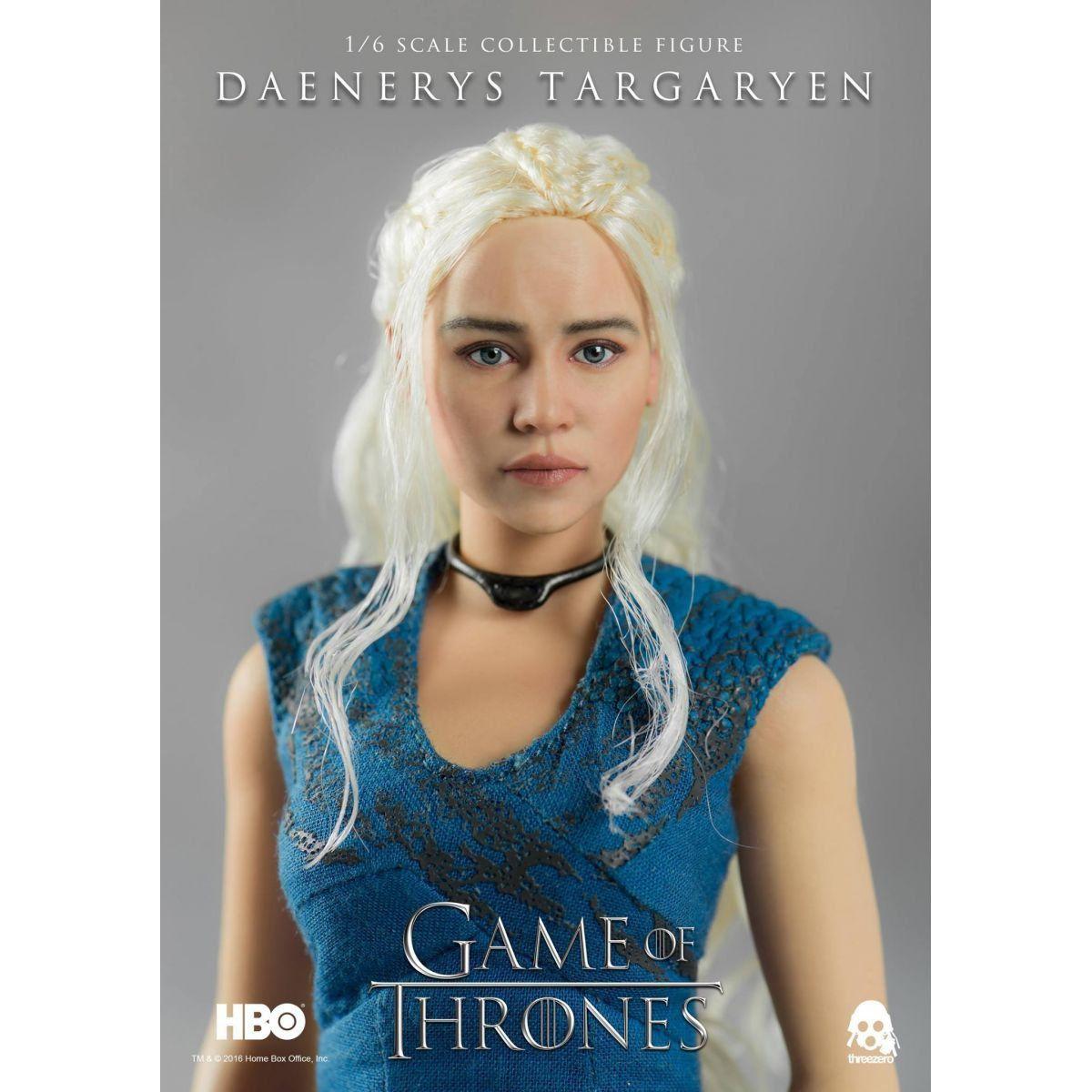Boneco Daenerys Targaryen: Game of Thrones Escala 1/6 - ThreeA