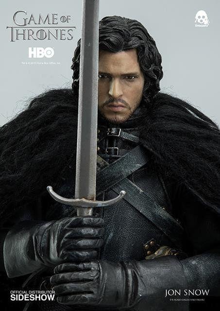 Game Of Thrones: Jon Snow Escala 1/6 - ThreeZero