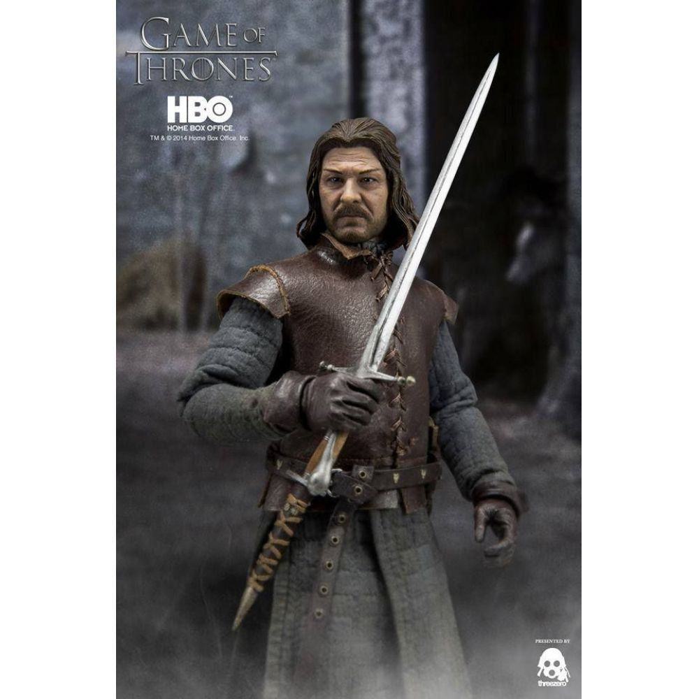 Boneco Ned Eddard Stark: Game Of Thrones Escala 1/6 - ThreeZero - CG