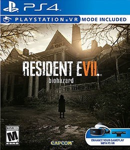 Game Resident Evil VII Biohazard VR PS4