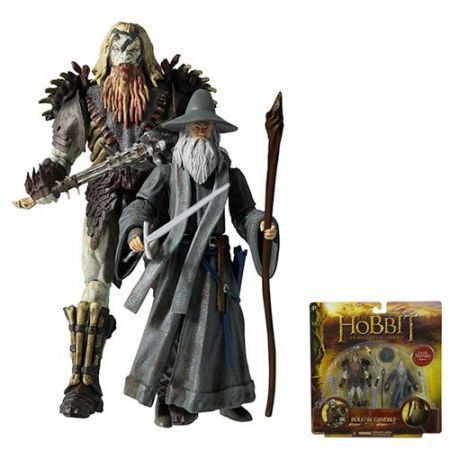 Gandalf e Bolg The Hobbit Figures Deluxe Adventure Pacote com 2 Figuras - The Bridge