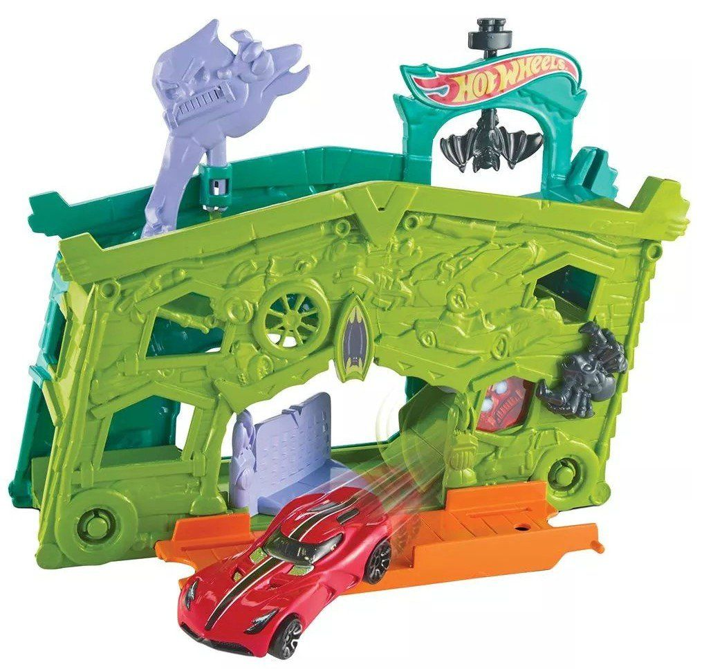 Garagem Fatasma: Hot Wheels - Mattel