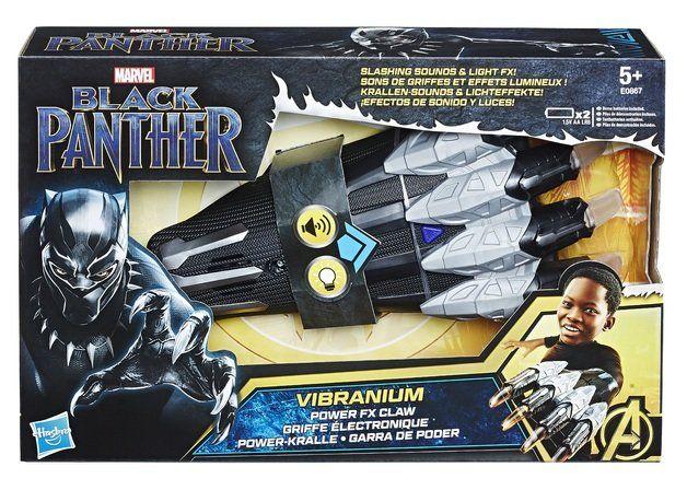 Garra Pantera Negra (Black Panther) Com Som e Luz - Hasbro