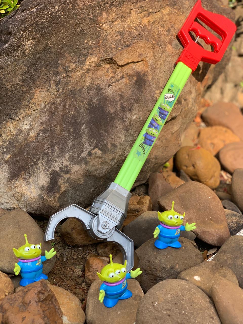 Garra Pega Aliens (Braço Biônico): Toy Story 4 (Disney) - Toyng