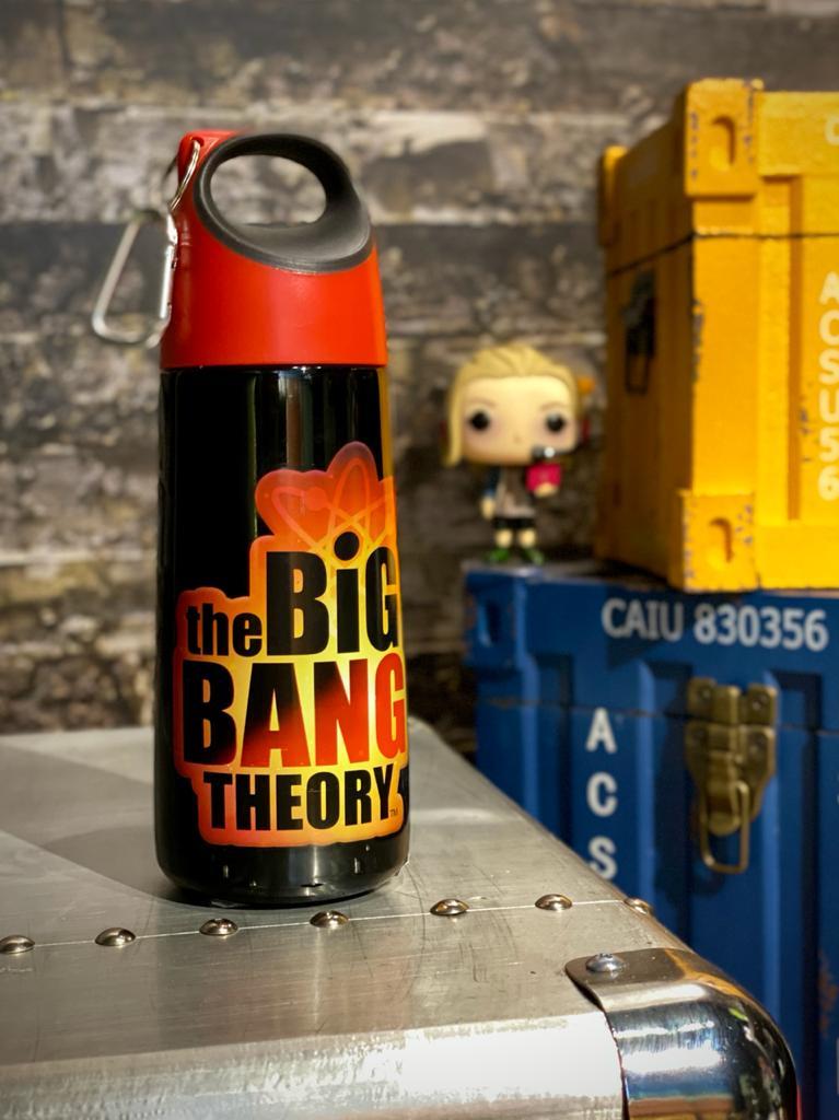 Garrafa Aço Inox Arco: Logo The Big Bang Theory 350ml - Urban