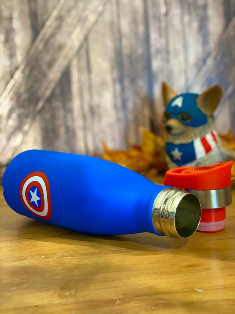 Garrafa Cantil Capitão América: Vingadores (Avengers) - Marvel - (350ML)
