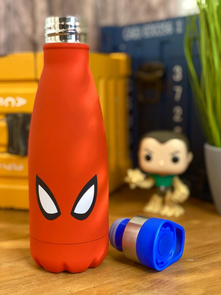 Garrafa Cantil Homem Aranha (Spider-Man): Marvel - (350ML)
