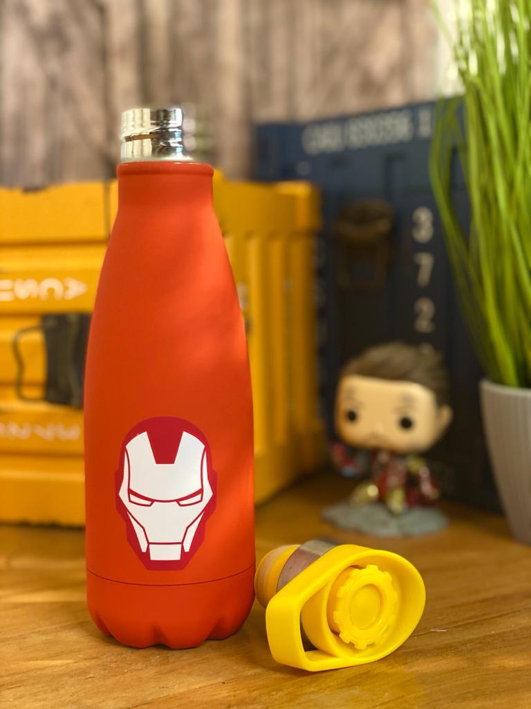 Garrafa Cantil Homem De Ferro: Vingadores (Avengers) - Marvel - (350ML)
