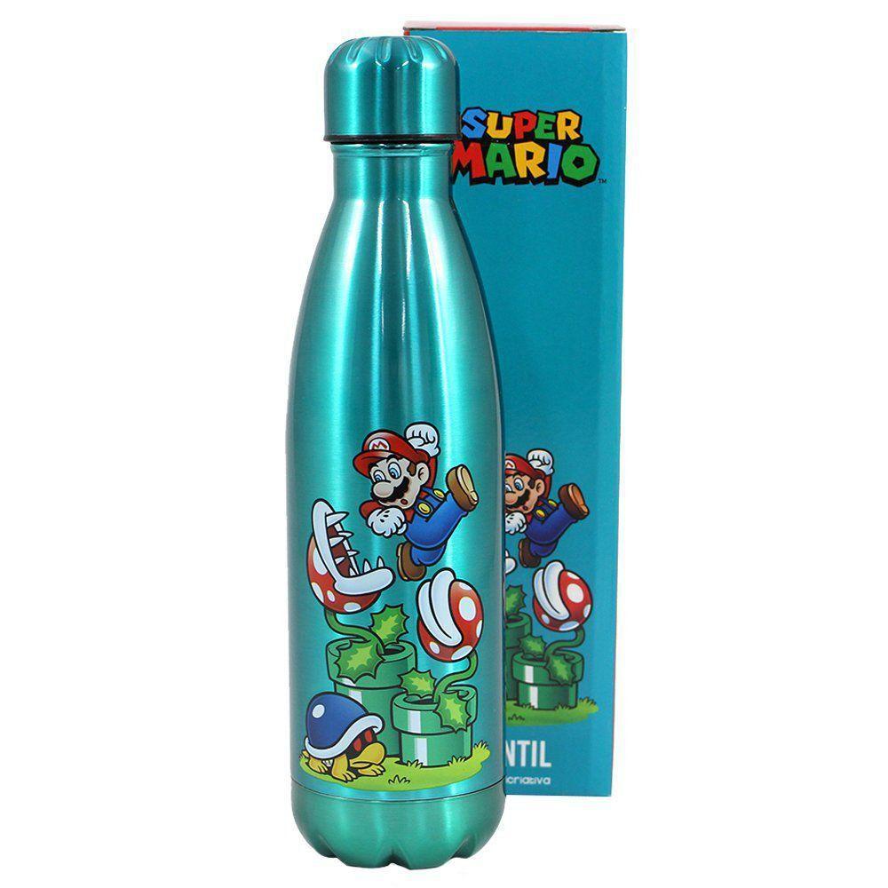 Garrafa Cantil Mario: Super Mario - (500ML)