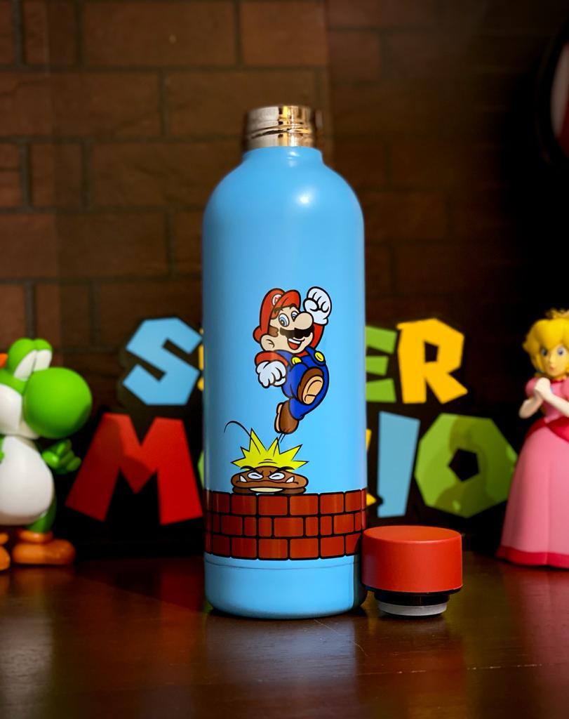 Garrafa Cantil Mario: Super Mario Bros - (550ML)