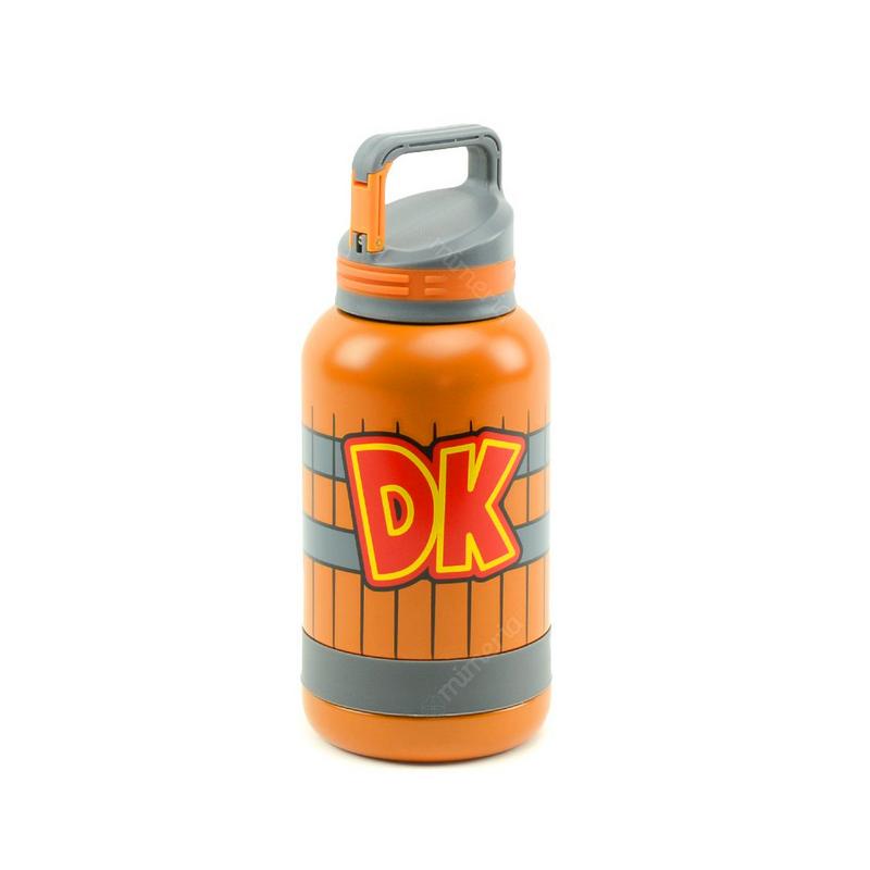 Garrafa Com Alça Barril DK: Donkey Kong (500ml)
