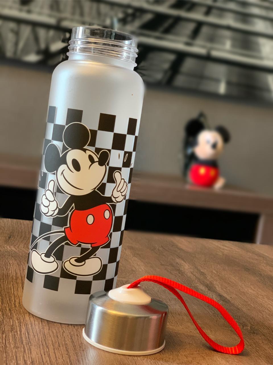 Garrafa Com Alça Mickey Mouse: Disney (700ml) - Zona Criativa