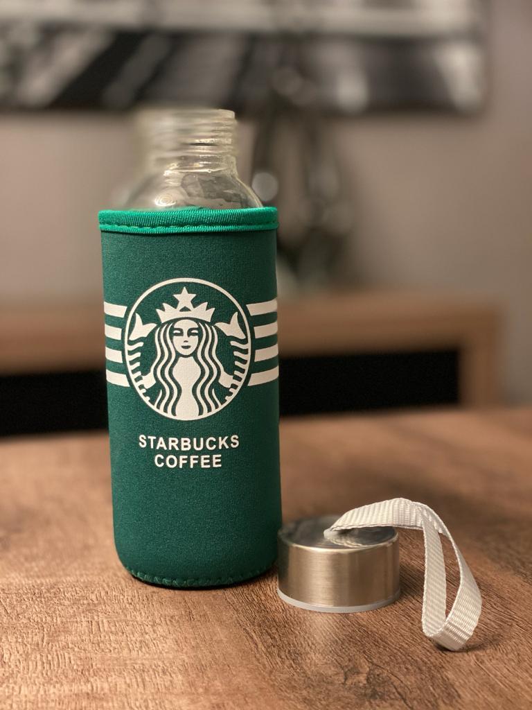 Garrafa Com Alça Starbucks Coffee ( Fashion Cup ) 300ml